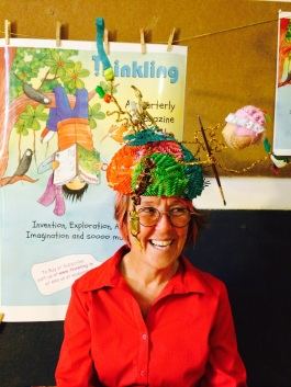 Australian Storyteller Jo Henwood at the library